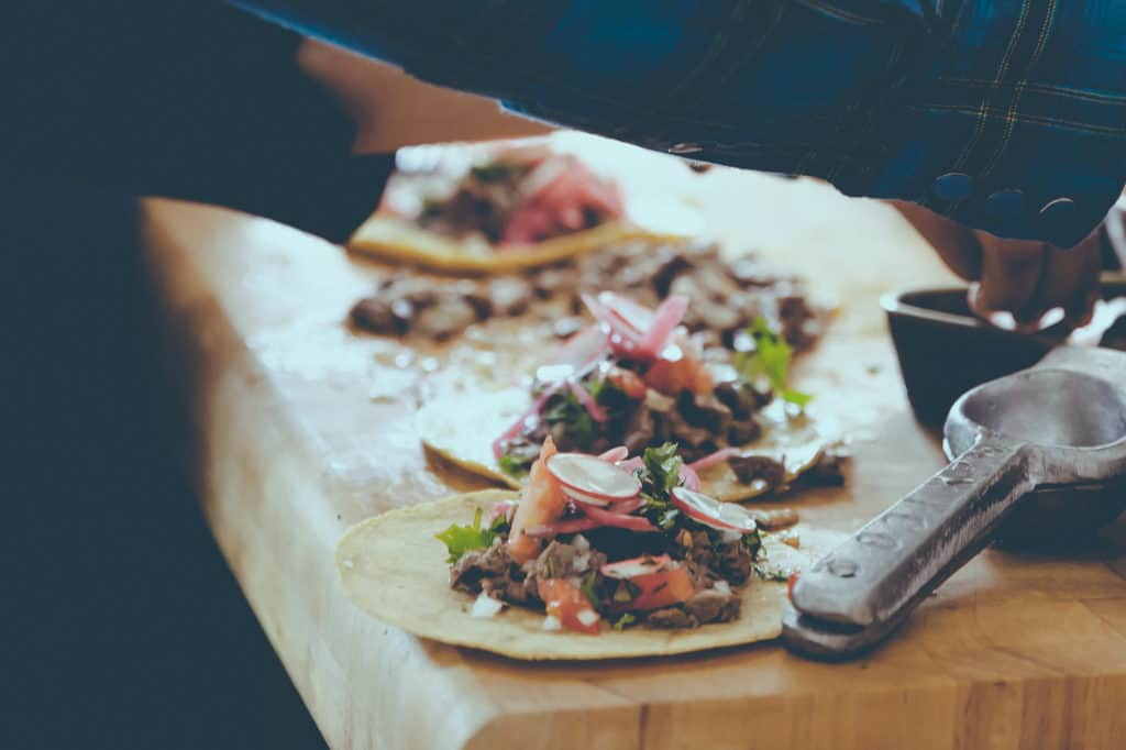 Mobile mexican food in Brussels