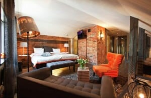 Exceptional hotel with an exclusive design featuring cosy and comfortable rooms.
