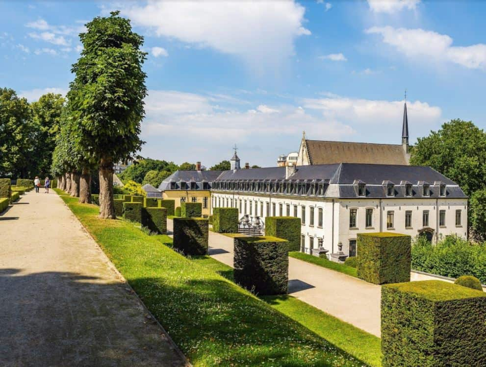 Gardens of la Cambre Abbey
