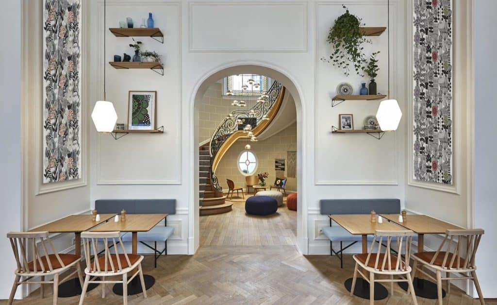 Cosy Brussels hotel with a minimalist design