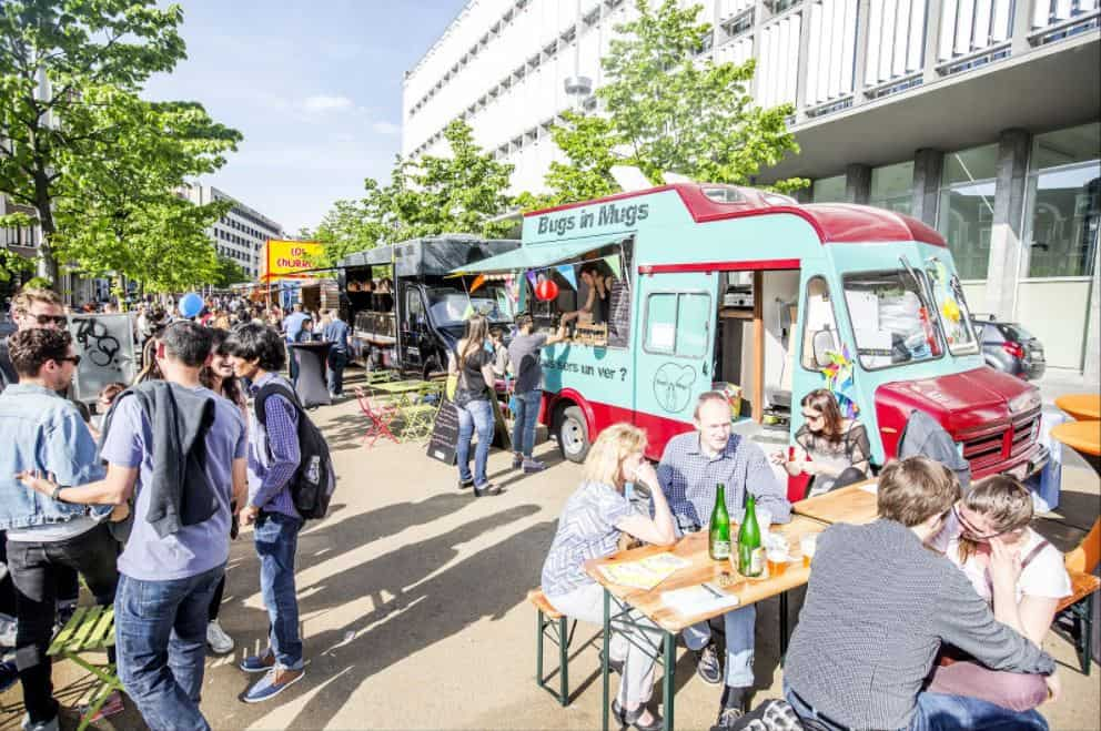 Food Trucks to Hire in Brussels for Events