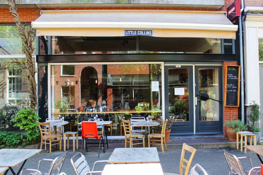 Cosy breakfast and brunch spot in Amsterdam