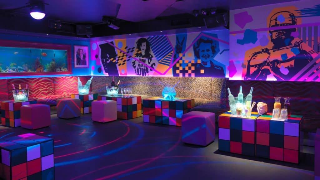 Eighties-themed entertainment venue