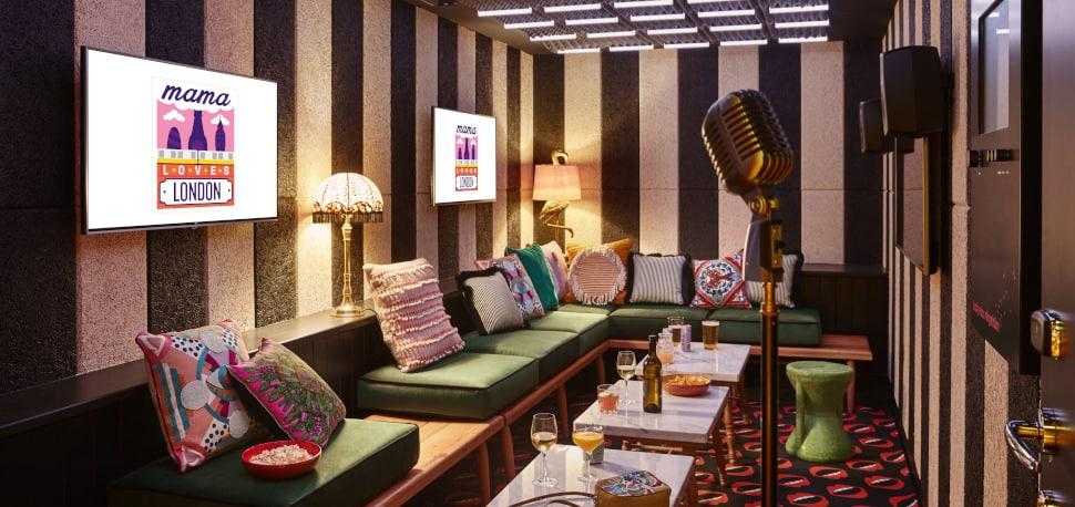 Quirky karaoke venue in London