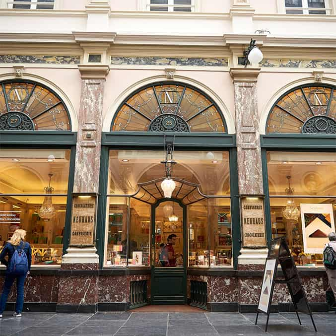 Store of Neuhaus in Brussels's city centre