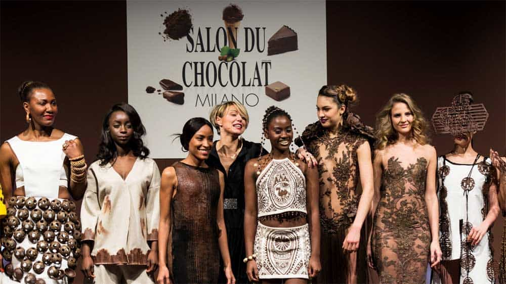 Event with stage for Salon du Chocolat