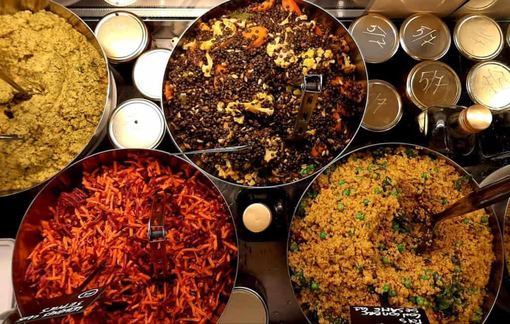 Brussels food truck offering vegan food