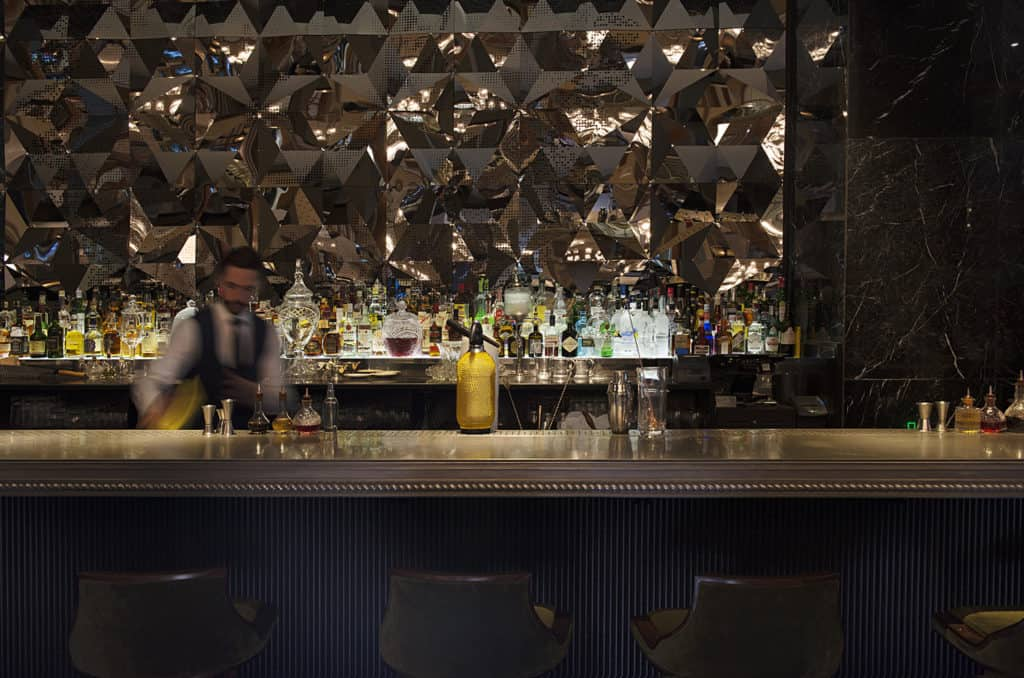 Elegant and mysterious bar in Amsterdam centrum