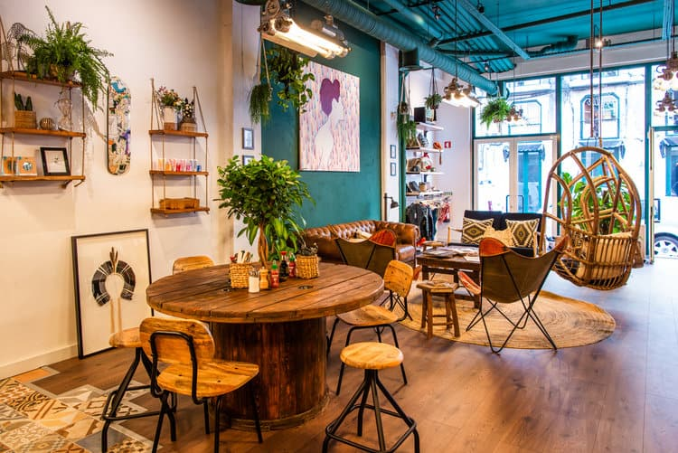 Quirky and creative restaurant in Lisbon
