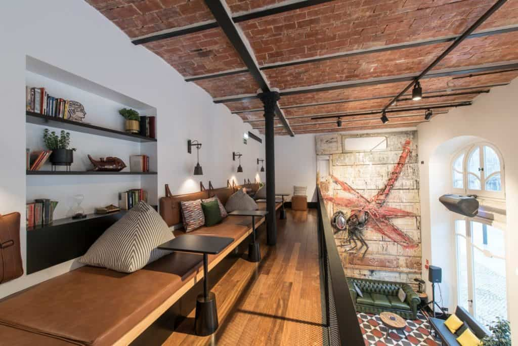 Modern restaurant with Portuguese influences