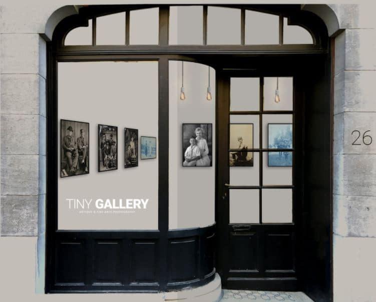 Small art gallery in Brussels