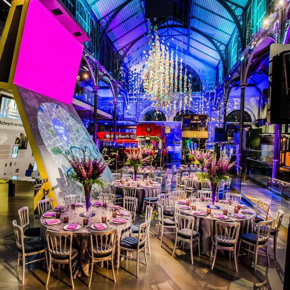 Unique venue showcasing London's rich transport history
