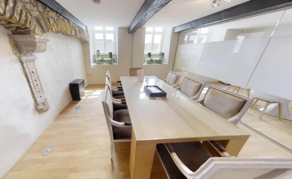 small meeting room for seminars
