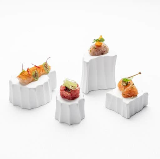 minimal fine dining plate