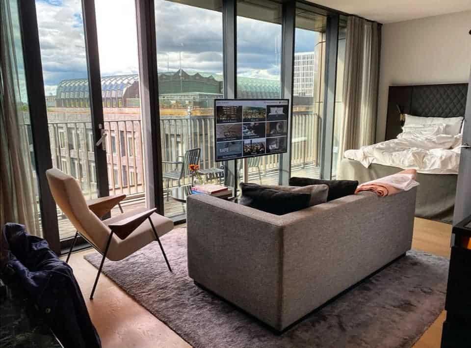 hotel room Stockholm