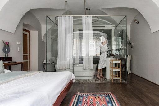 luxury design hotel room