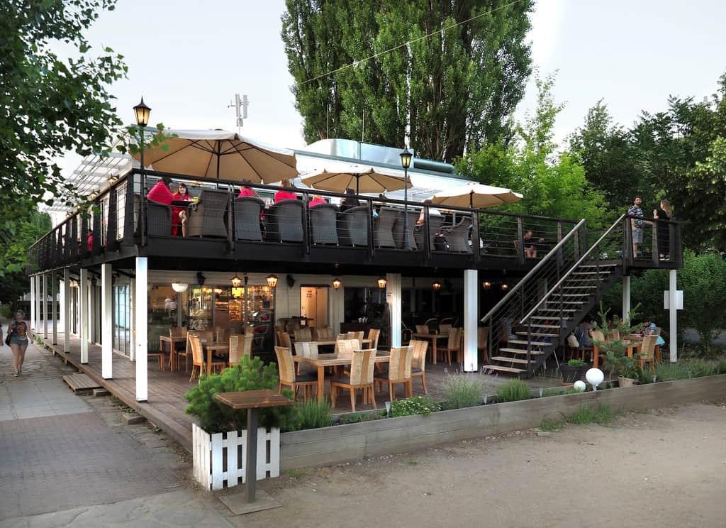 party venue with garden in Prague