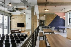 industrial conference venue
