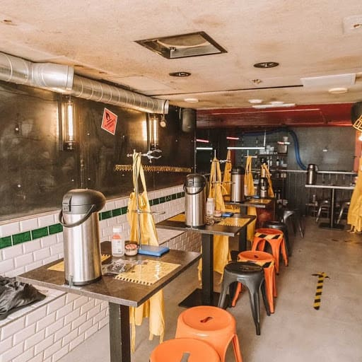 space for dining experience in london