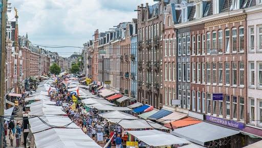 Albert Cuyp Markt in Amsterdam