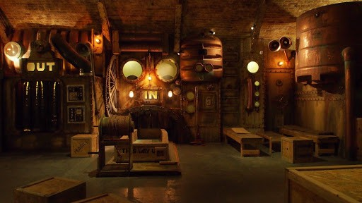 unusual space for immersive dining experience in london