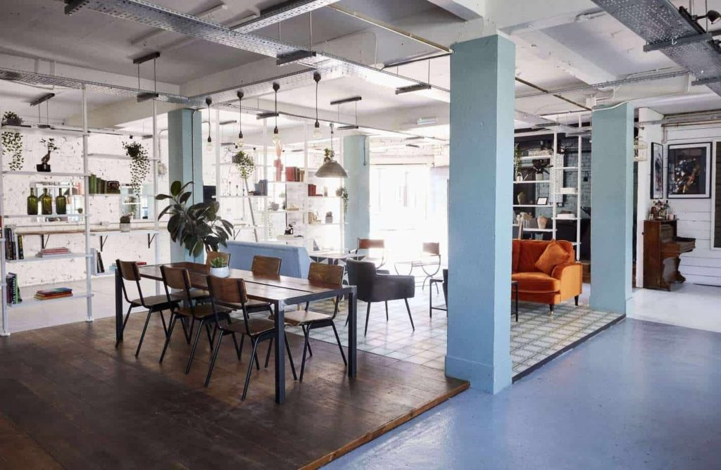 Charming workshop spaces in london