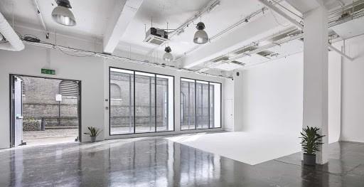 Elegant White Studio with Tons of Natural Light
