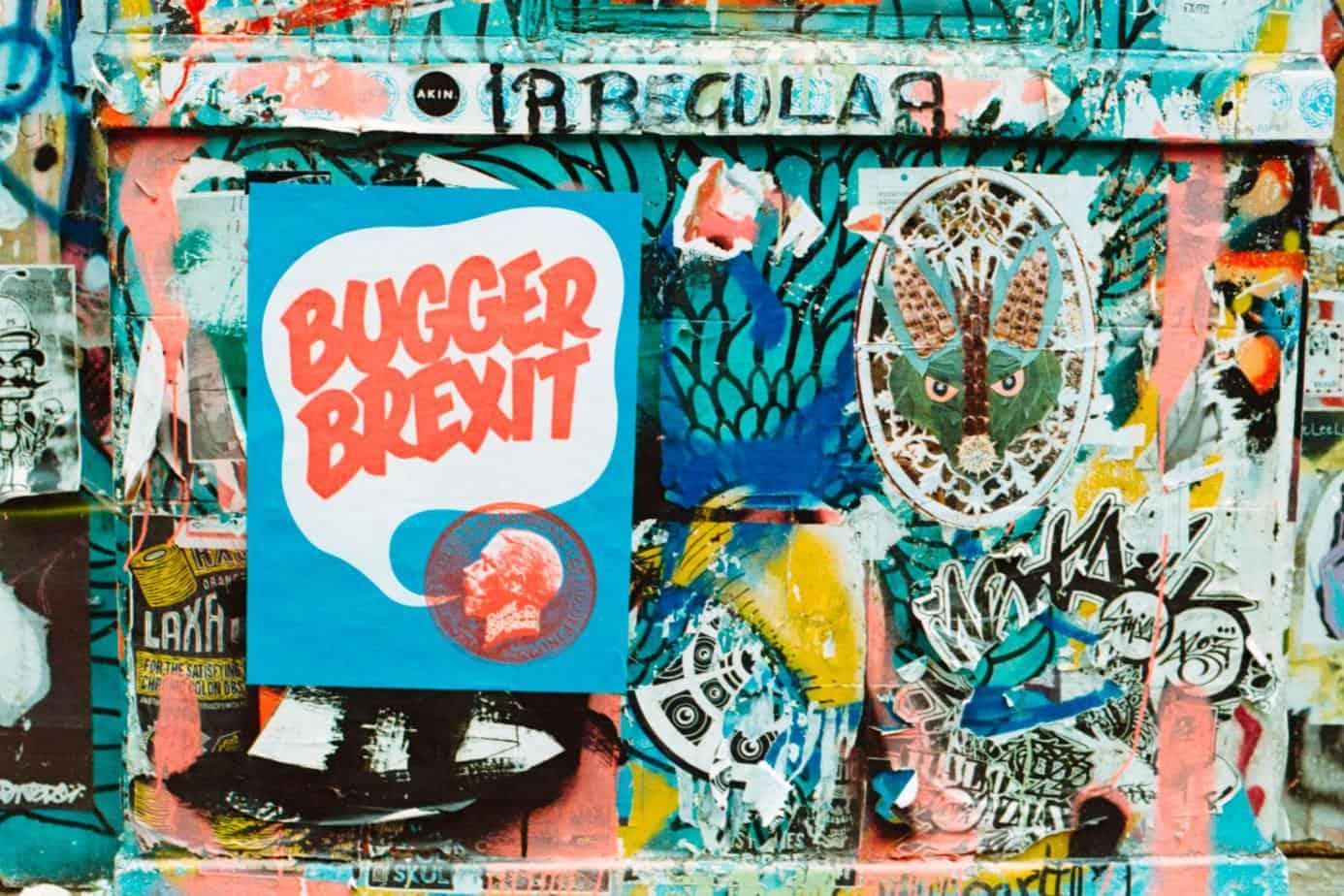 brexit graffiti