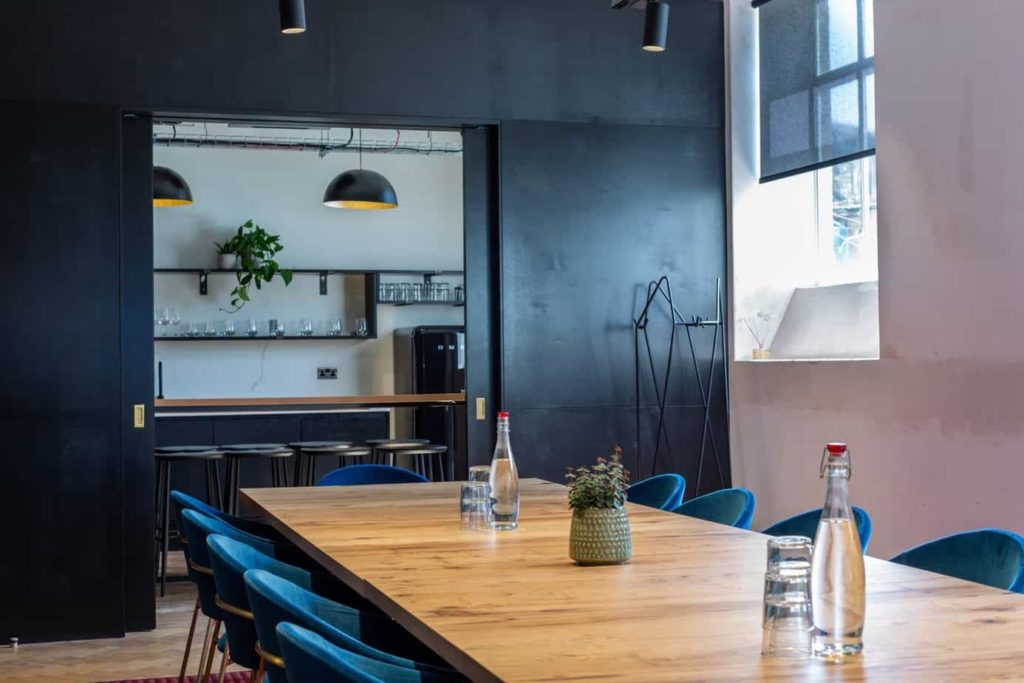 elegant meeting room in london
