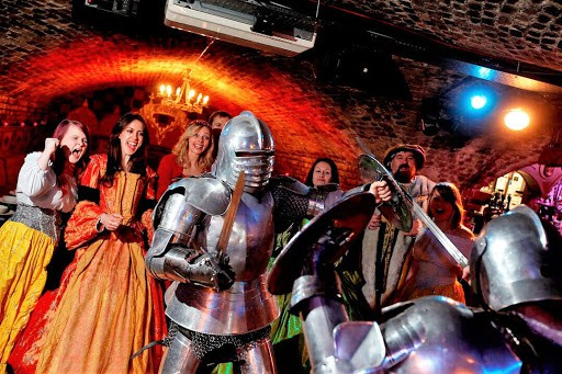 Medieval Banquet experience in london
