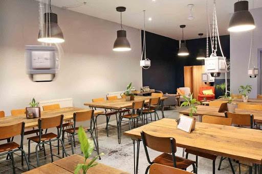 Modern Workspace with an Urban Twist for workshop in london