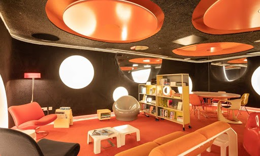 Quirky Little Space Age Bunker