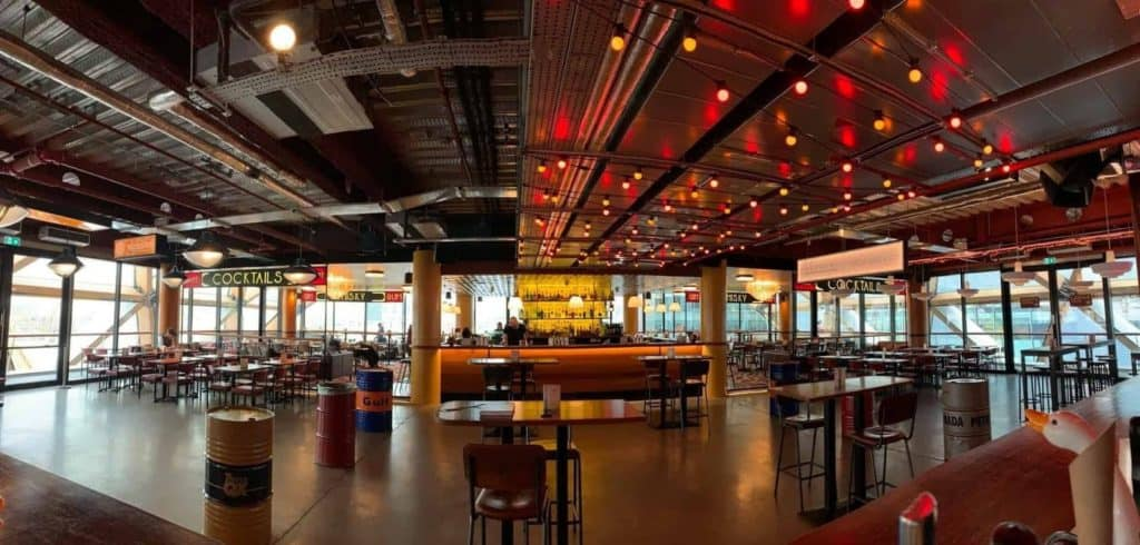 Stunning and fancy event location with terrace for hackathon