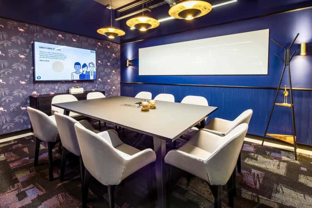 Superb Space for Important Client Meetings