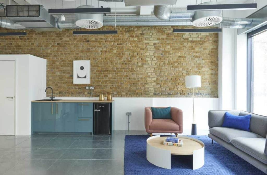 Trendy Space with Cool Industrial Finishes