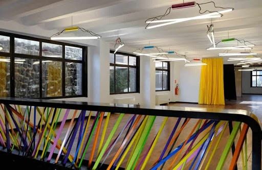 Colourful Breakout Room for training sessions in brussels