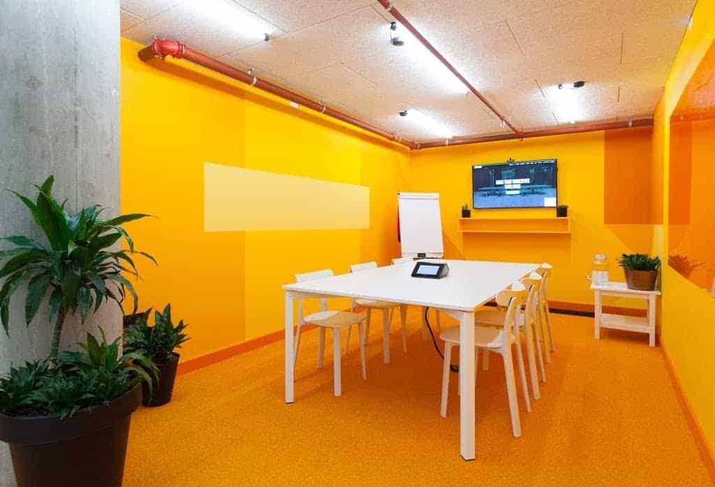 Fun and Colourful Seminar Room in London