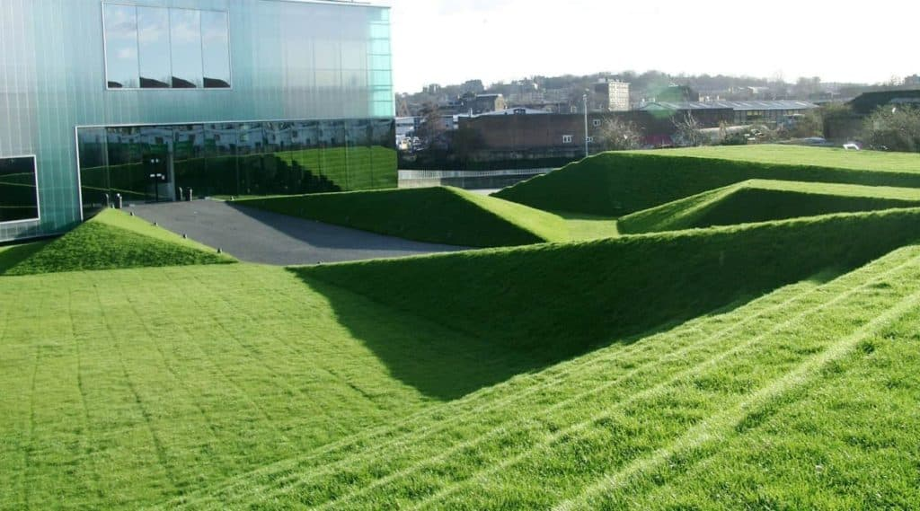 Green Outdoor Theatre for Various Events