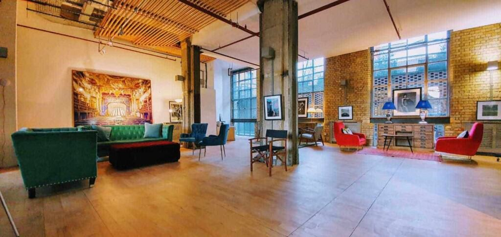 Large Open Loft with Industrial Accents