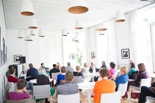 Discussion Space in a Literary Venue