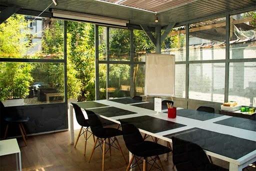 Boardroom with Bay Windows