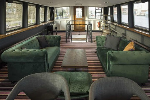 Modern and Cosy Event Boat in Amsterdam