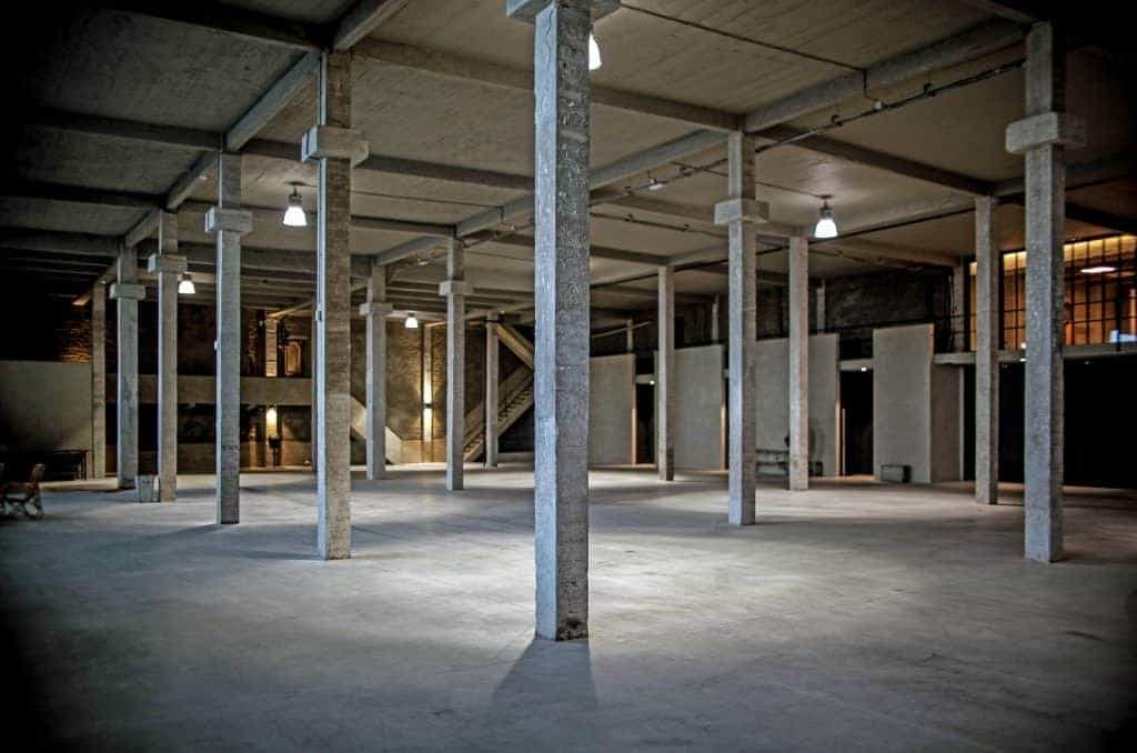 Raw Site in an Industrial Superstructure