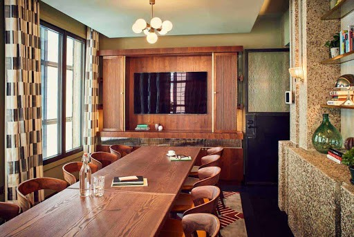 Spacious Discussion Space with Retro look in Holborn