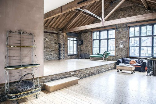 Transformed Victorian Factory for Film Productions
