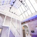 White Room with High Glass Roof
