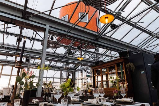 Amazing Rooftop Reception Space in Amsterdam