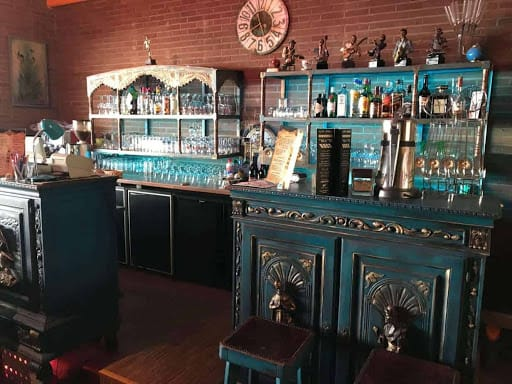 Amazing Venue with Trendy Colourful Bar