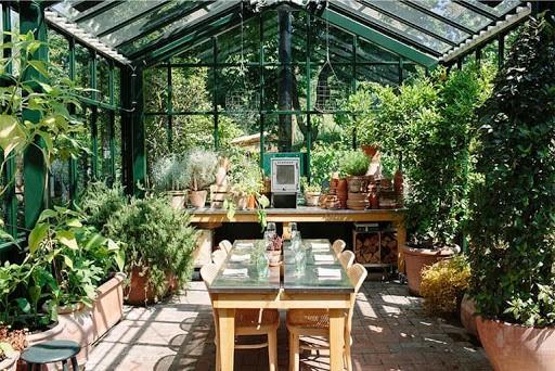 Beautiful Greenhouse Venue