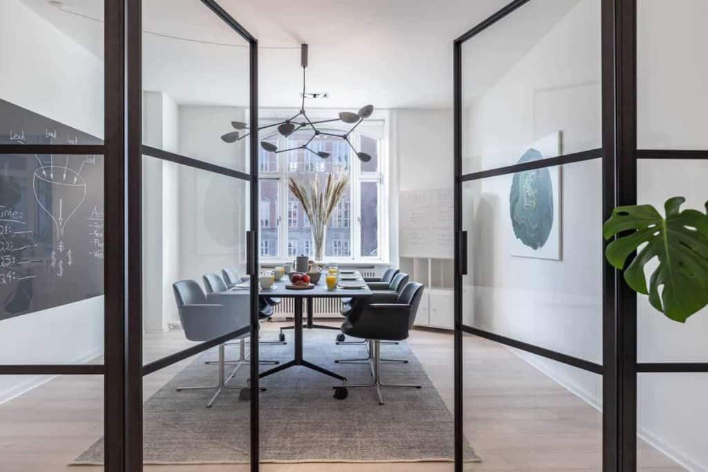 Boardroom Space in Copenhagen with Danish Aesthetic